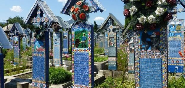Cementerio Alegre, Sapanta, Rumanía