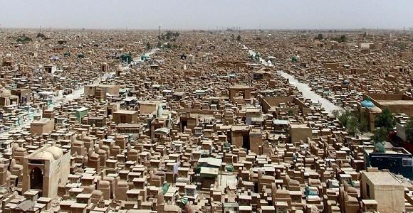 cementerio iraq más grande mundo